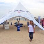 Geroldsteiner Zelt an einem Strand