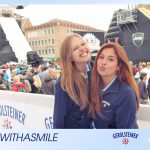 Messehostessen beim Red Bull District Ride