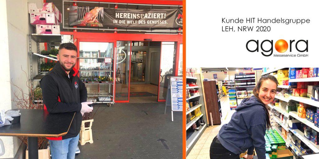 agora im HIT Markt in NRW
