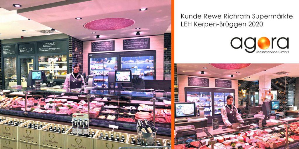 agora bei Rewe Richrath in Kerpen-Brüggen